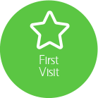 Button for First Visit page